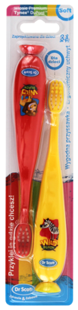 Dr Scott szczoteczki do zębów dla dzieci - 2-pack