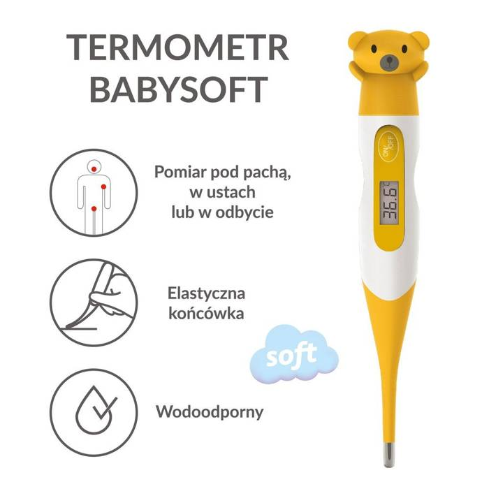 Termometr CONTROLY BABYSOFT